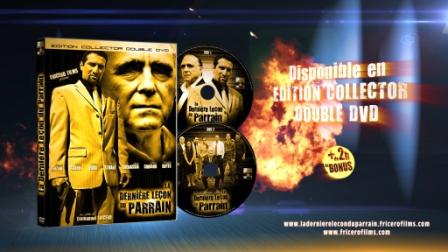 """PACKSHOT DVD """"La Dernière Leçon du Parrain"""""""